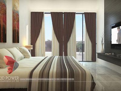 3D Architectural apartments Interior
