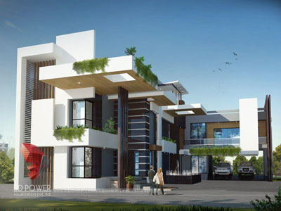 3D Architectural building Renders