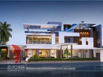 3D Architectural building