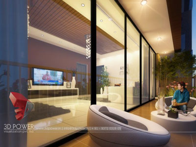 3d architectural apartments animation