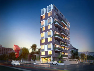 3d architectural apartments designs