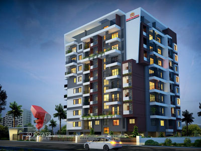 3d architectural apartments modeling