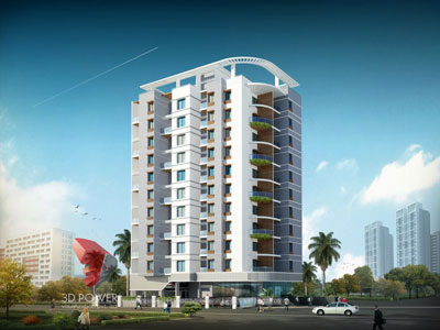 3d architectural apartments visualization