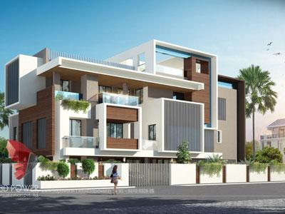 3d architectural building models