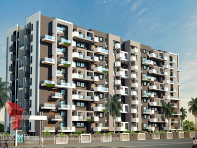 architectural apartments rendering
