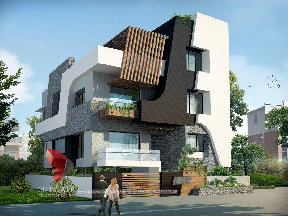 Architectural Villa Rendering | Architectural Rendering | 3D Power
