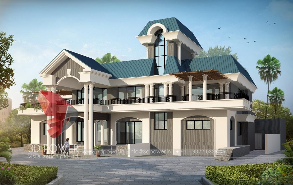 3d villa modelling villa 3d models 3d power for Villas 3d model