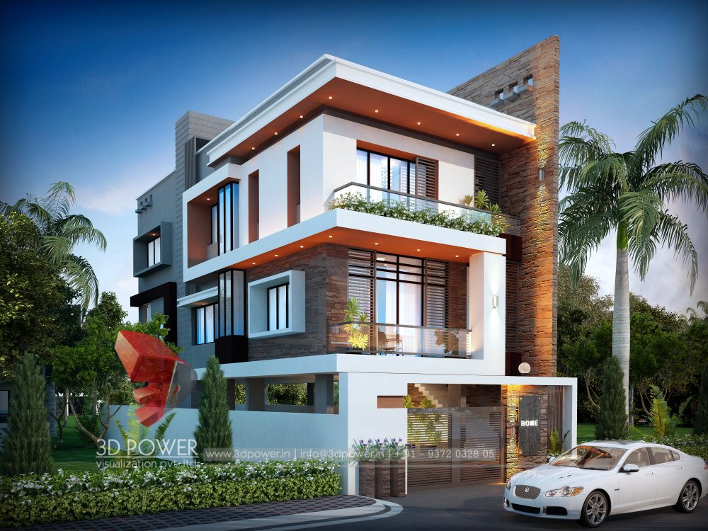 Bungalow Elevation Designing Interior Power