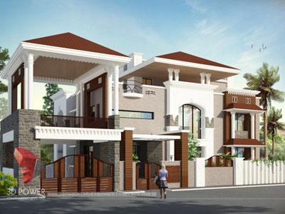 3D Architectural Villa Interior