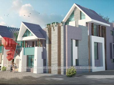 3D Architectural villa Interiors