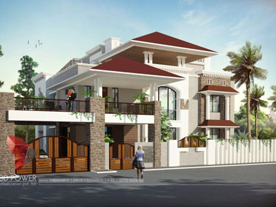 3D Architectural villa Renders