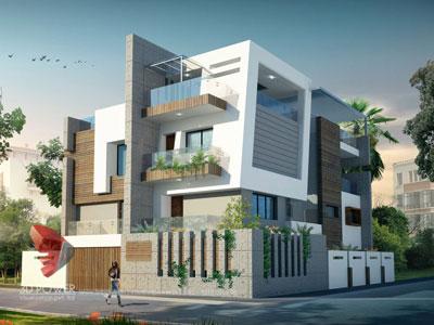 3d architectural villa animation