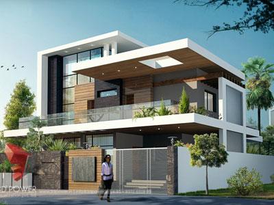 3D Architectural Villa Model
