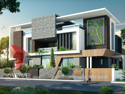 3d Villa Rendering Designs