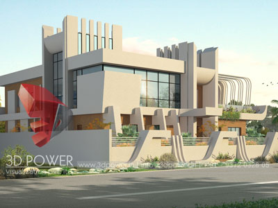 3d Villa Rendering Firm