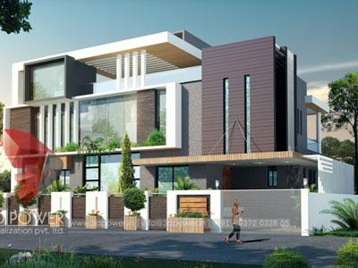 3d Villa Rendering House