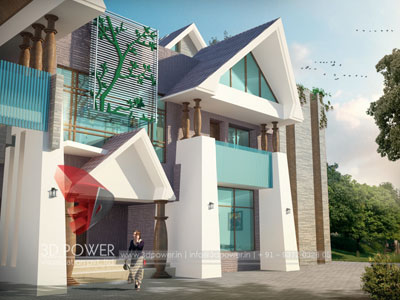 3d Villa Rendering Walkthrough