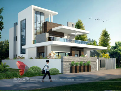 Architectural Villa Animation