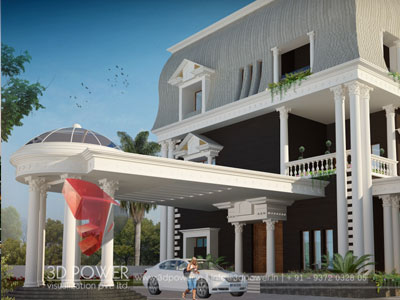 Architectural Villa Renderings