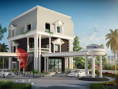 Architectural Villa Visualization