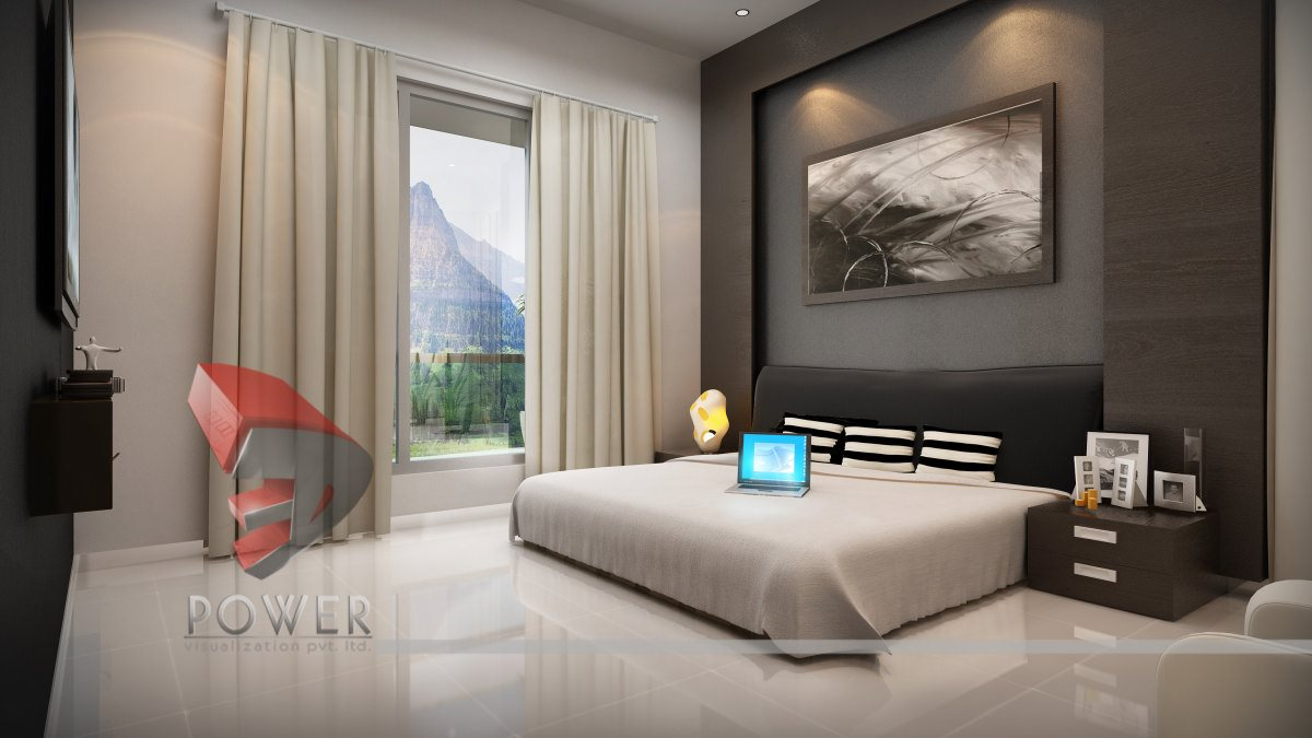 . Bedroom Interior   Bedroom Interior design   3D Power