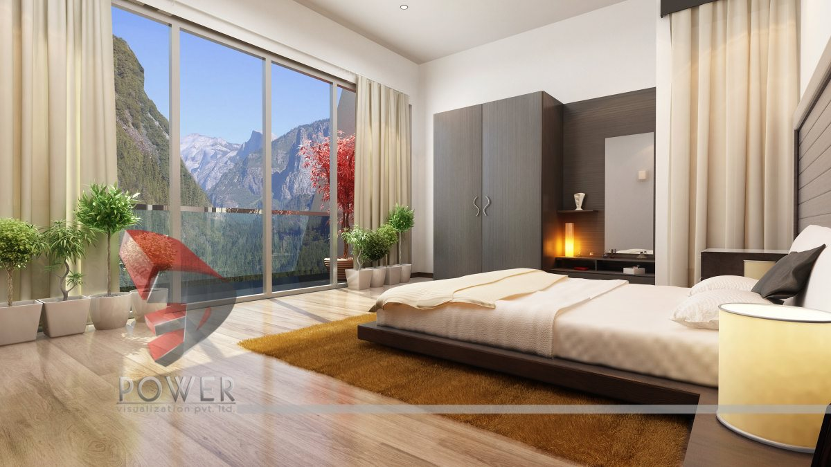 modern 3d view bedroom australia - 3d Design Bedroom