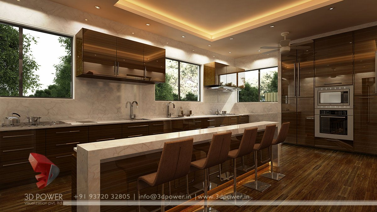 3D Kitchen Interiors 3D Kitchen Interior Kitchen Interior Kitchen Interiors