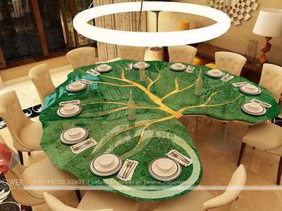 3d Dining Table Interior Design