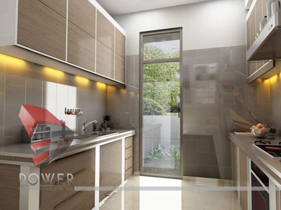 3d Kitchen View Interior Designing Turkey