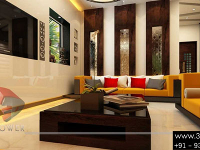 Classic Interior Designing 3d Living Room