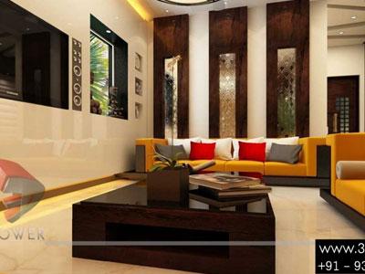 Classic Interior Designing 3d Living Room