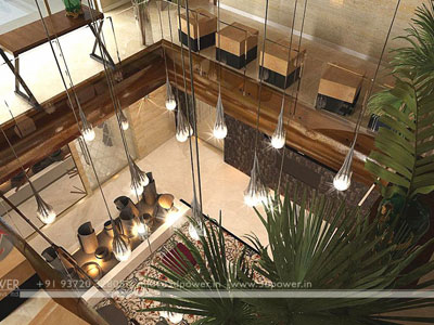 Classic Top View Living Room Dubai