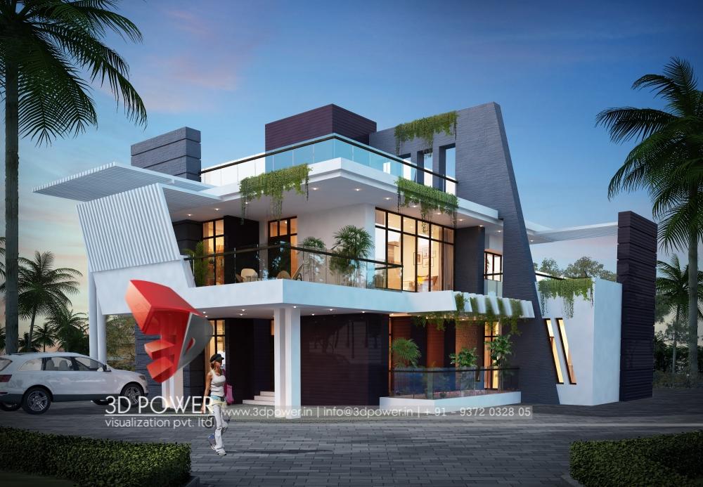3d bungalow walkthrough bungalow interior 3d walkthrough for Modern design building services ltd