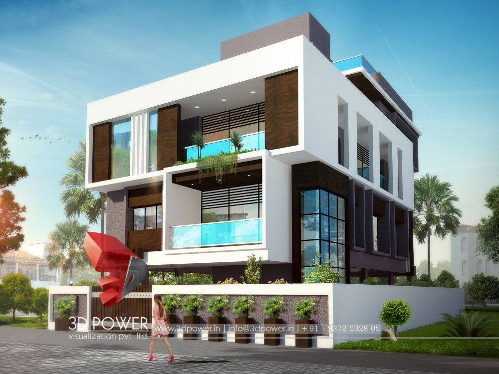 3d Bungalow Walkthrough on House 3d Interior Exterior Design Rendering Modern Home Designs