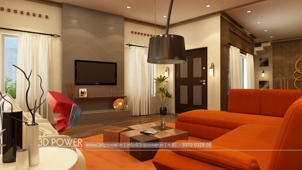 Contemporary interiors design contemporary home design for 3d view of house interior design