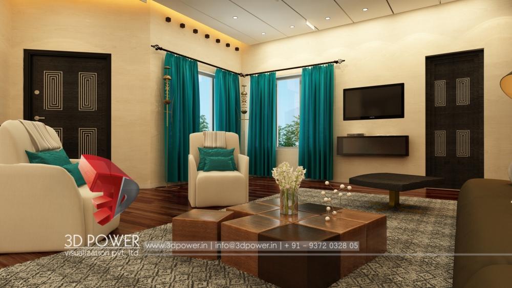 ... High Class 3d Living Room Interior Design View Part 32
