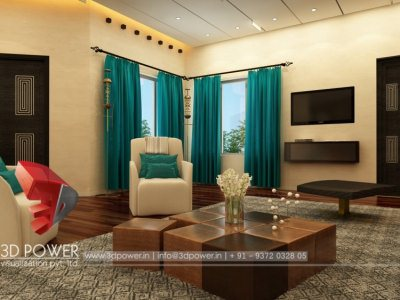... High Class 3d Living Room Interior Design View