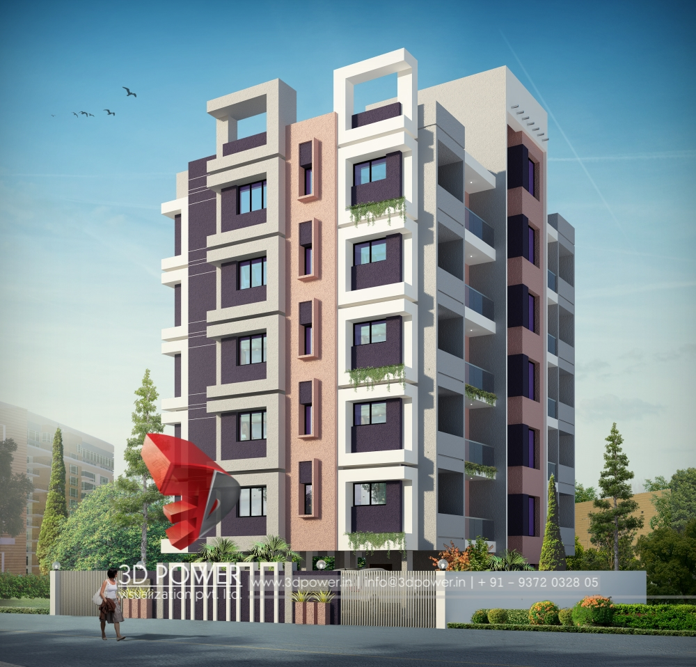 Lighting Studio Jaipur: 3D Architectural Apartment Rendering