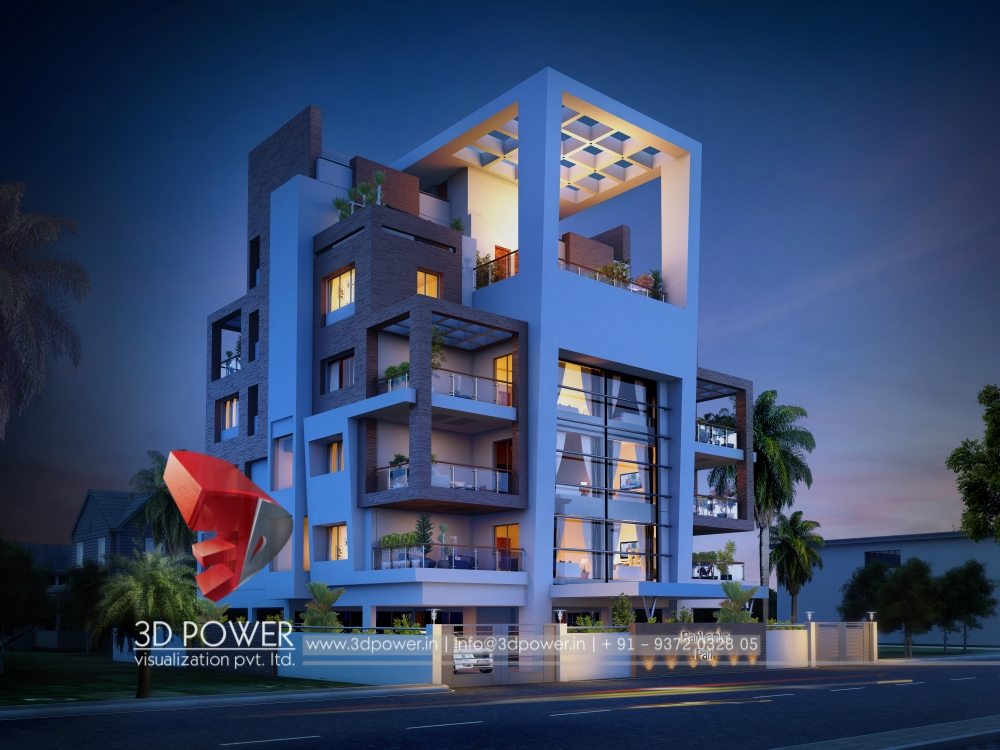 3d architectural apartment rendering architectural for Apartment 3d