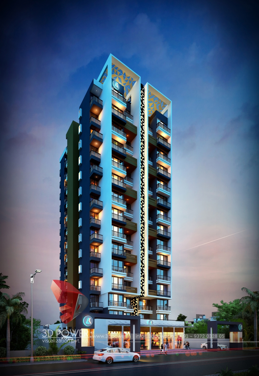 Apartment Visualization Hyderabad | 3D Power