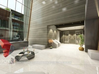 3D Apartment Visualization Interior