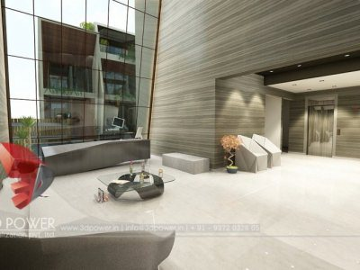 3D Rendering Apartment Interior
