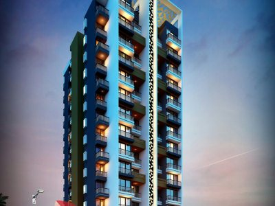 architectural-animation-rendering-elevation-high-rise-apartment-hyderabad