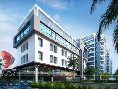 commercial-apartment-parking-pune-3d-rendering-3d-front-views
