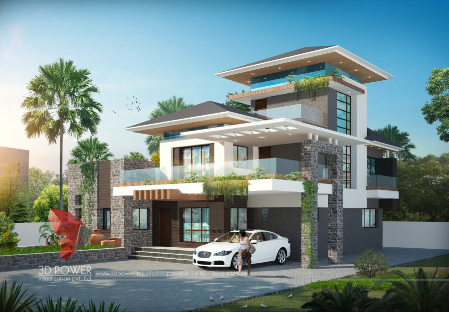 Exclusive 3 Story Bungalow 9