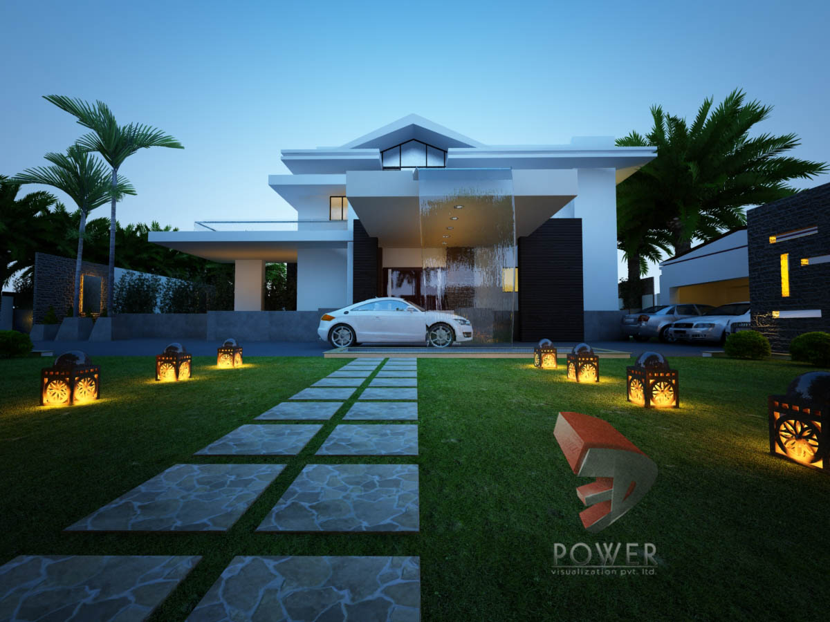 Bungalow Rendering Solapur 3d Power