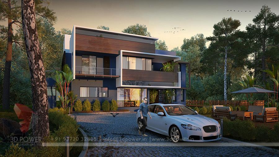 Bungalow Design Services Bangalore 3d Power
