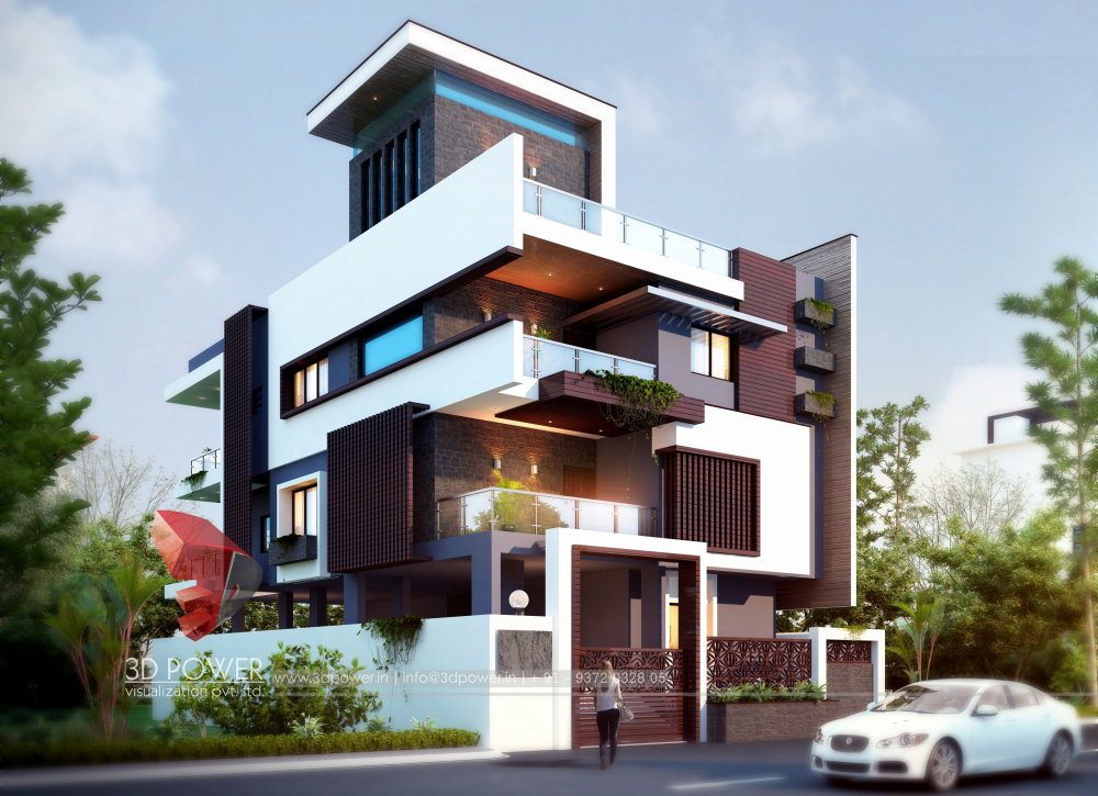 Exterior: Bungalow Architectural Pune
