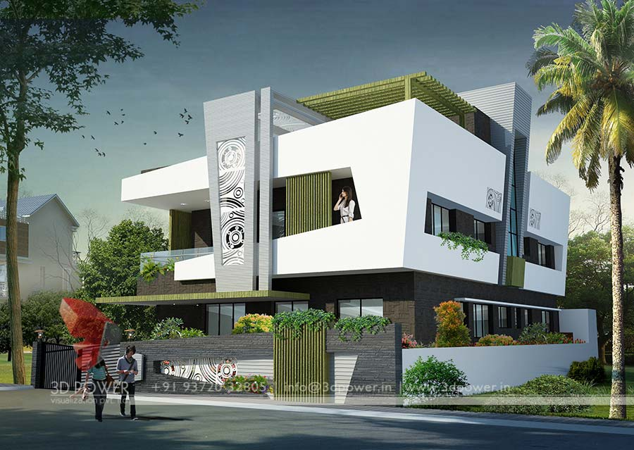 Bungalow Design Ganjam 3d Power