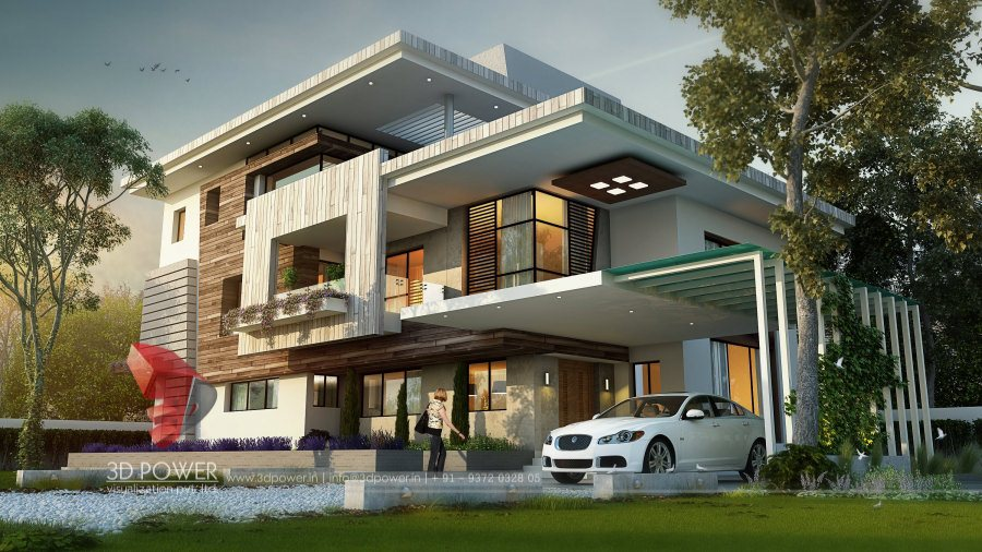 Bungalow Home Plans Amritsar | 3D Power